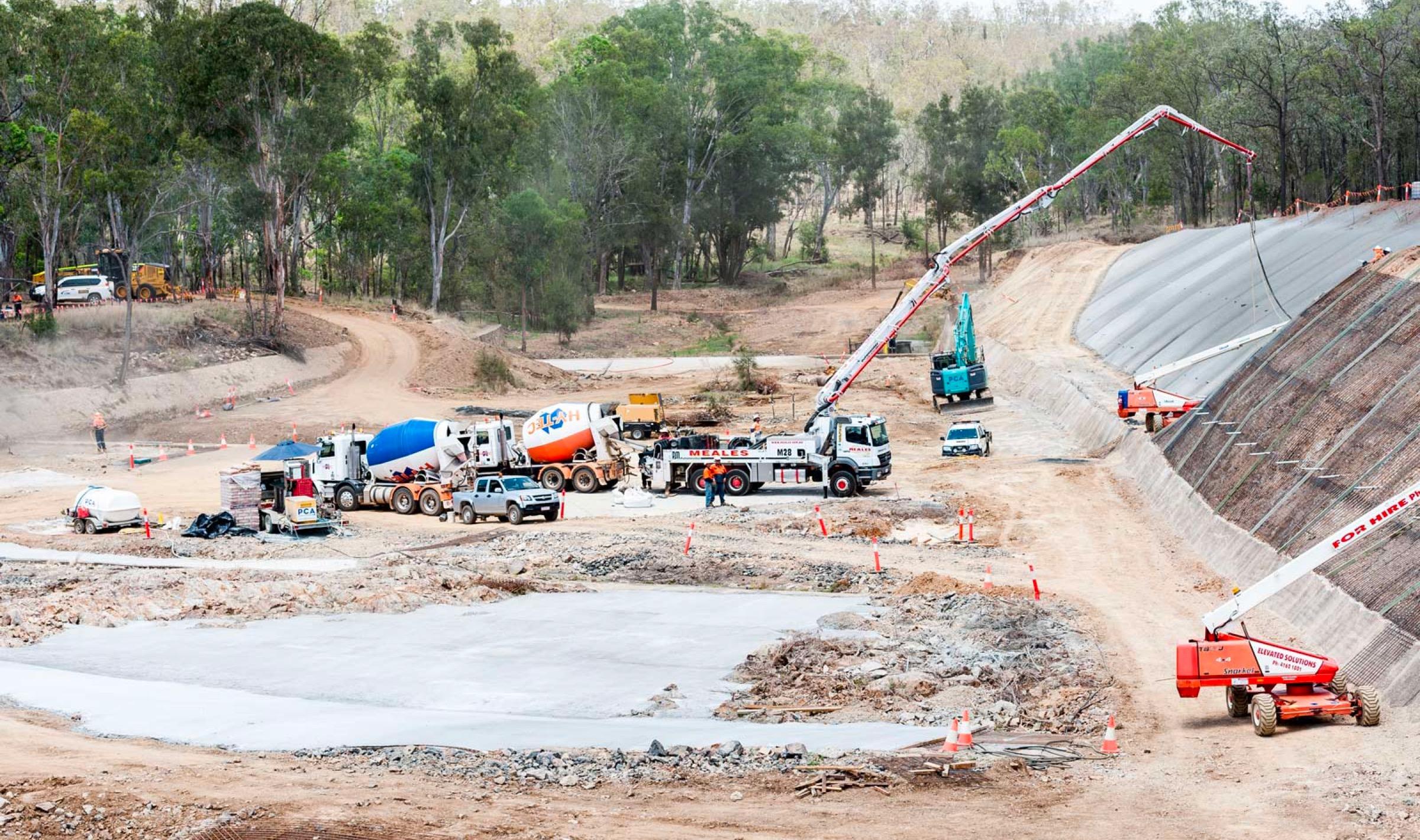 Gordonbrook Dam Spillway Repairs