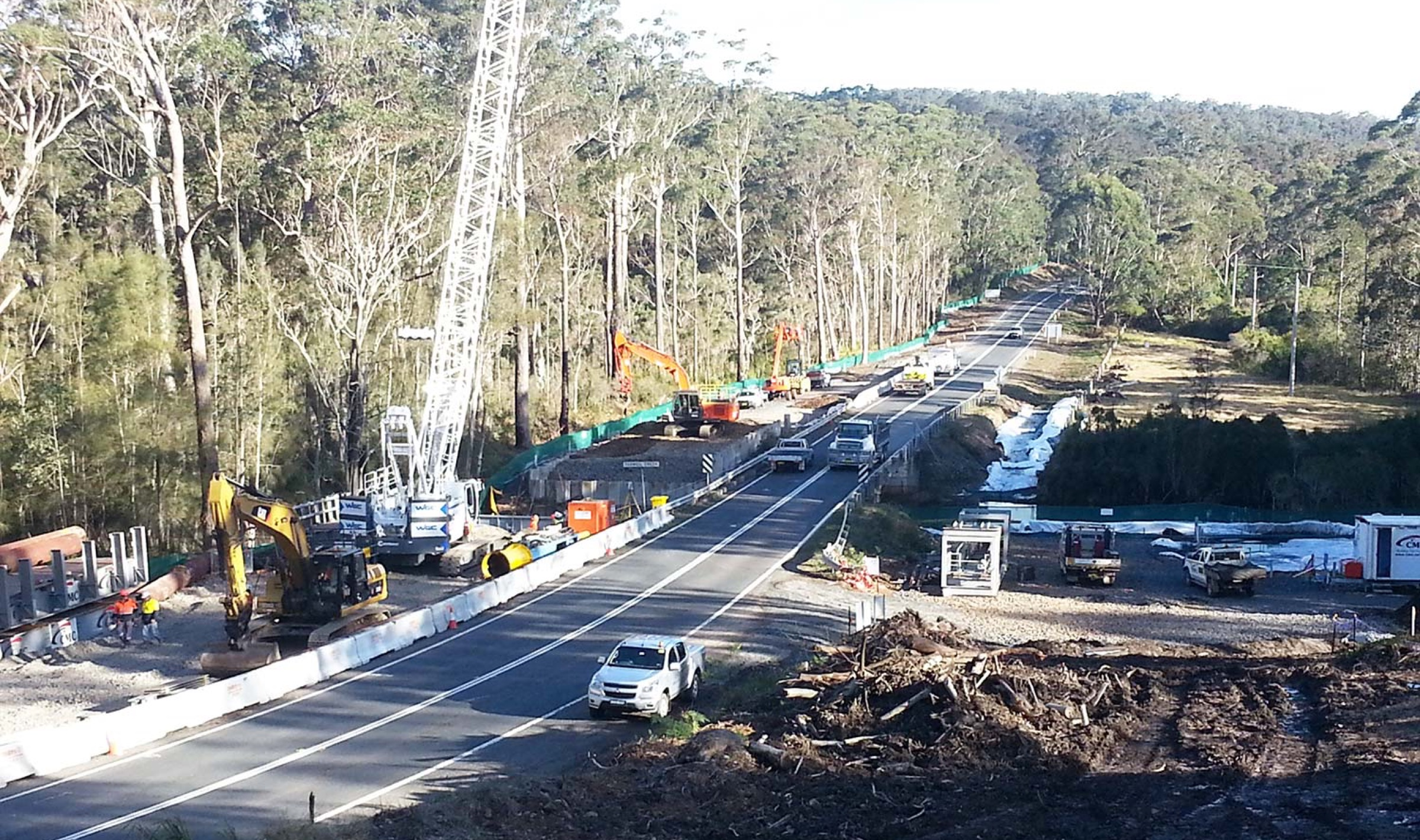 Princes Highway Upgrade, Termeil Creek