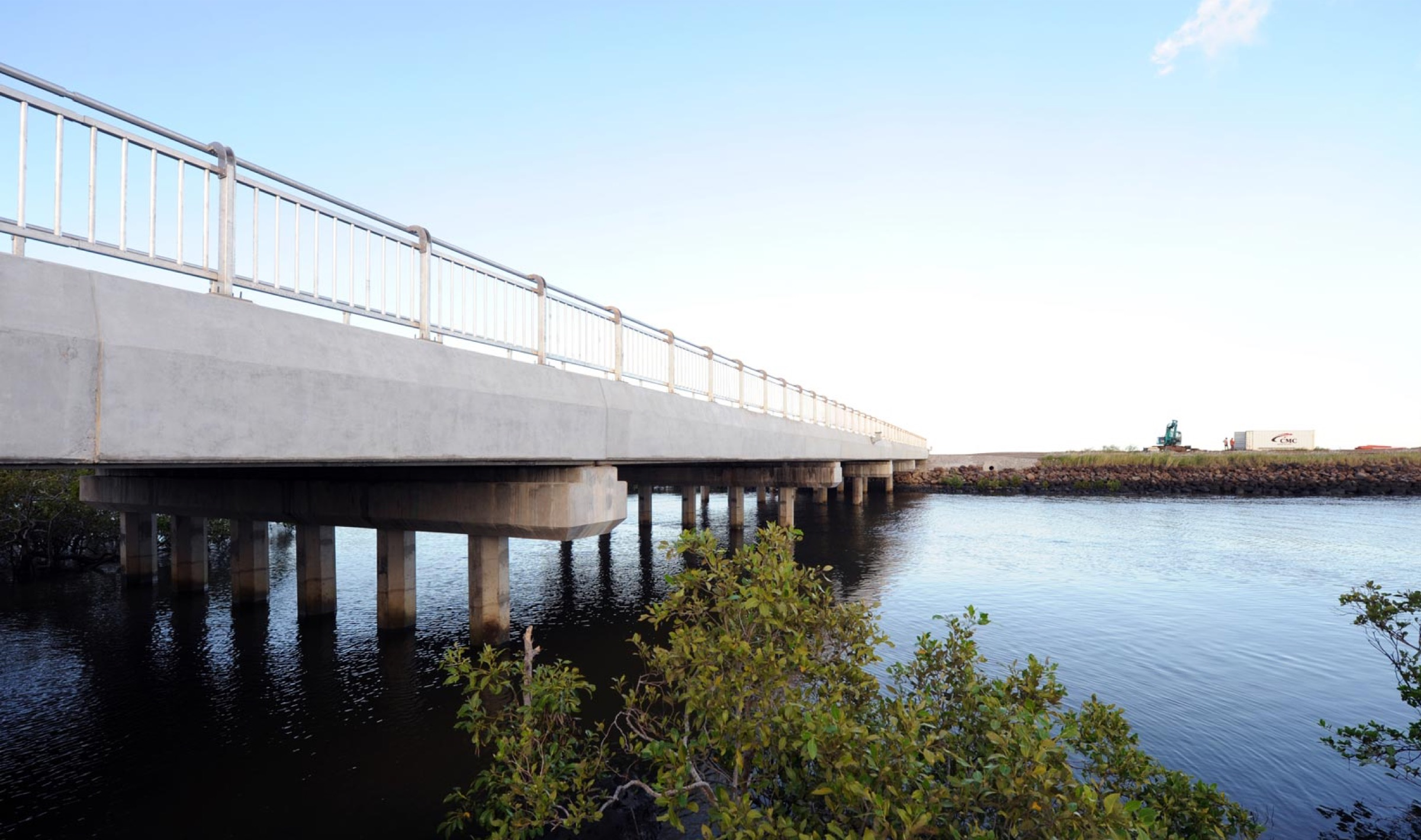 Wallace Creek Bridge and Road Works