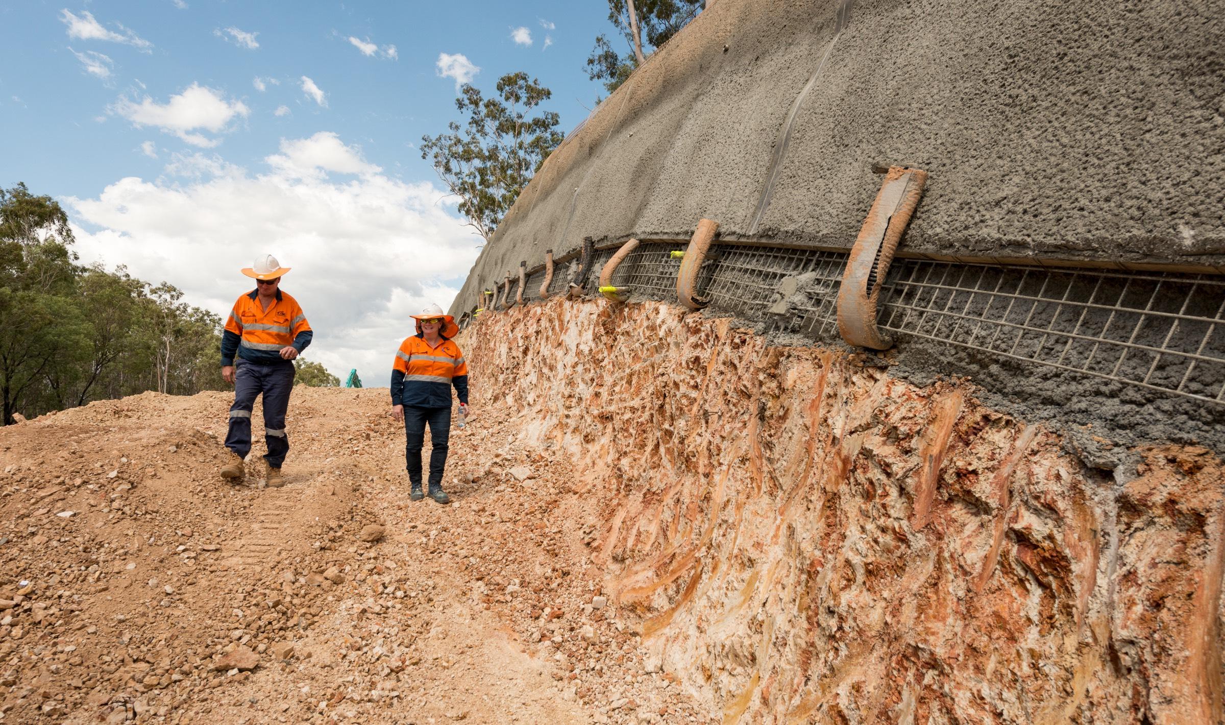 Bruce Highway Upgrade, Benaraby Overtaking Lanes