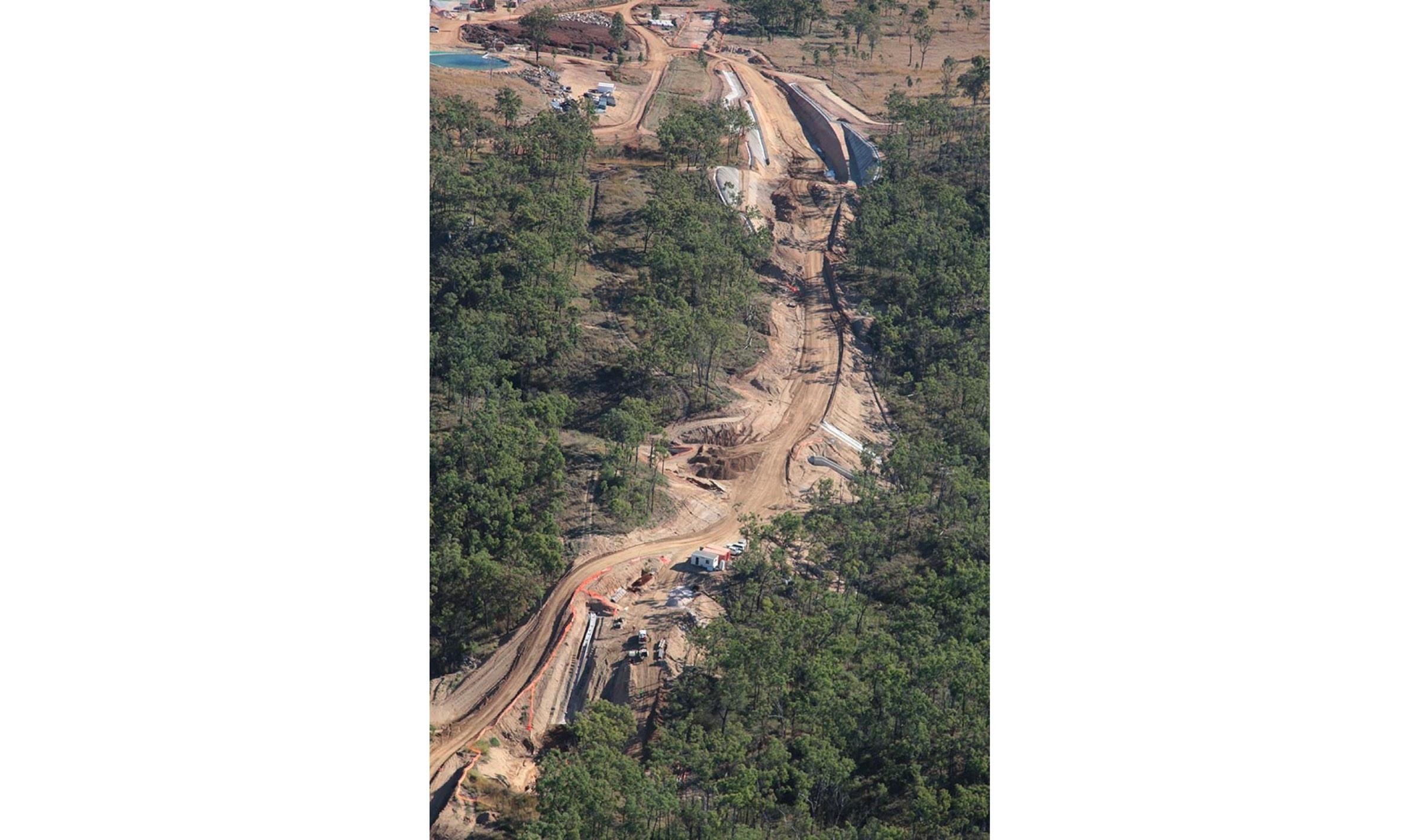 Dawson Highway, Calliope Range Deviation