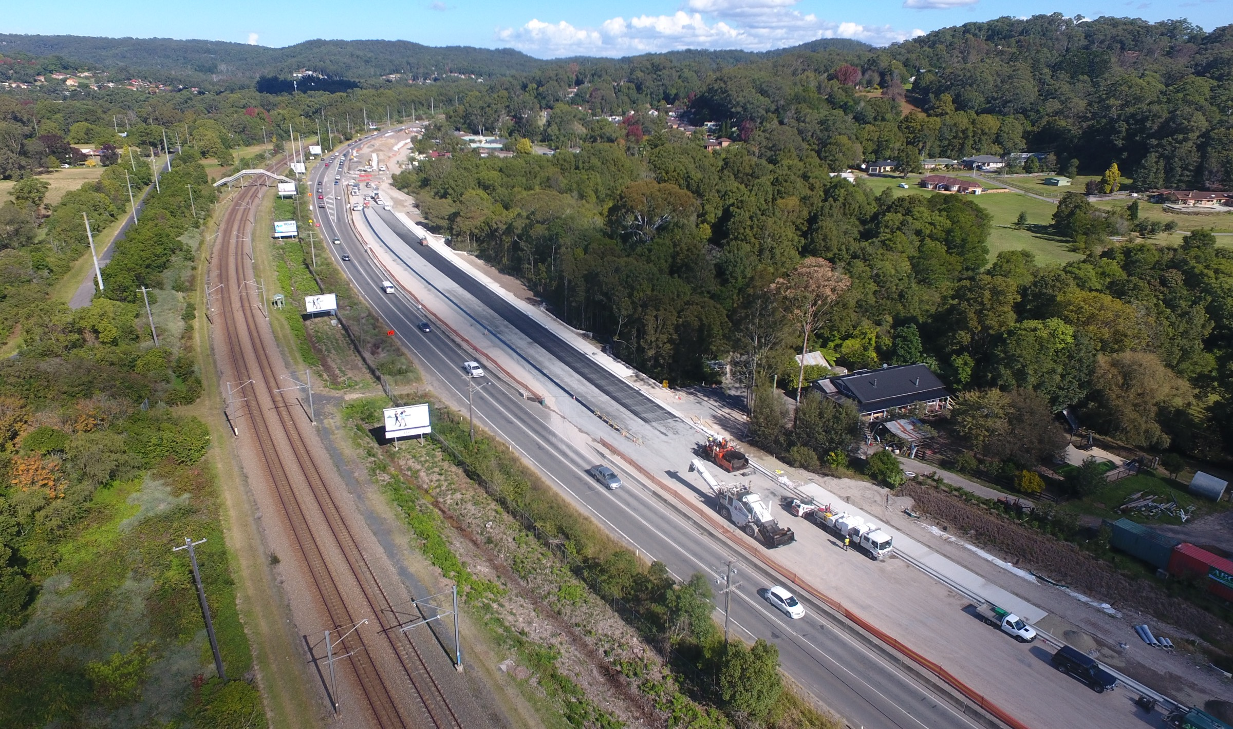 HW10 Old Pacific Highway Upgrade, Ourimbah, Stage 3