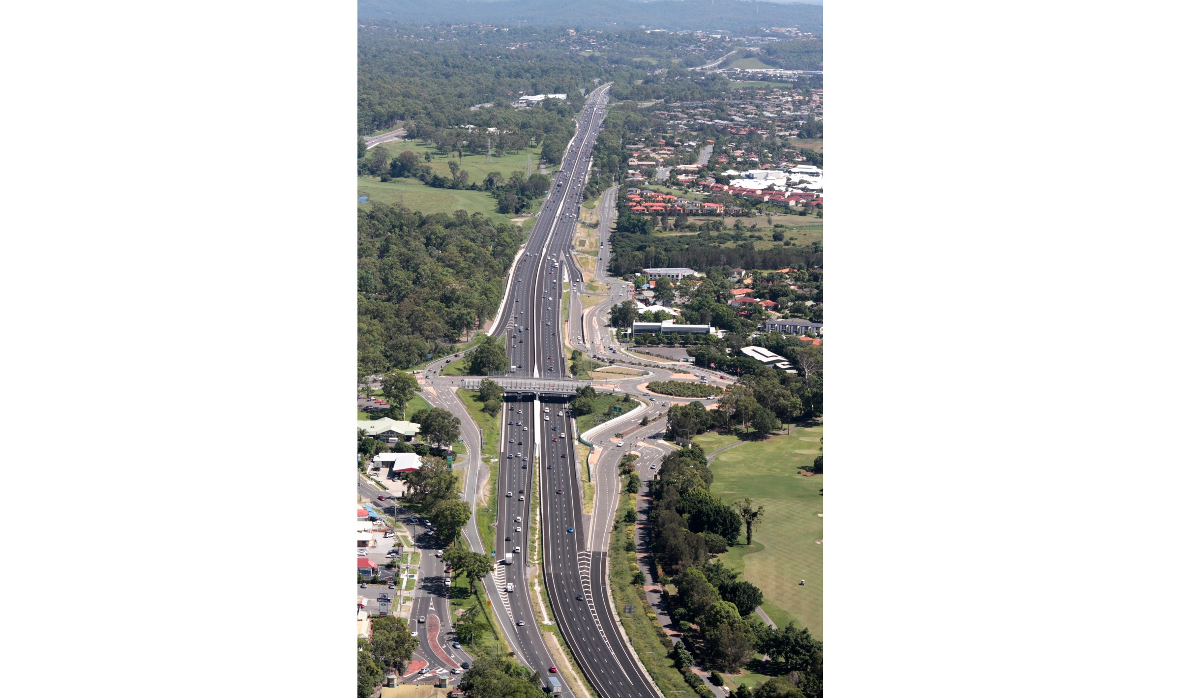 Pacific Motorway Upgrade, Worongary To Mudgeeraba